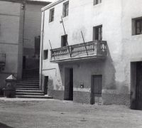 083 Font de la Plaça i Ajuntament a l'any 1965
